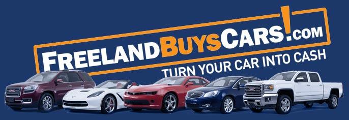 freeland buys cars logo